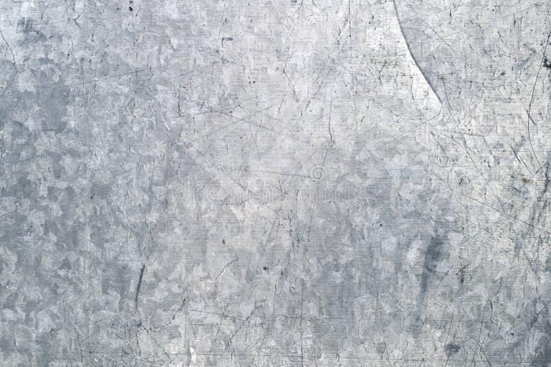 Textura galvanizada do ferro fotos de stock