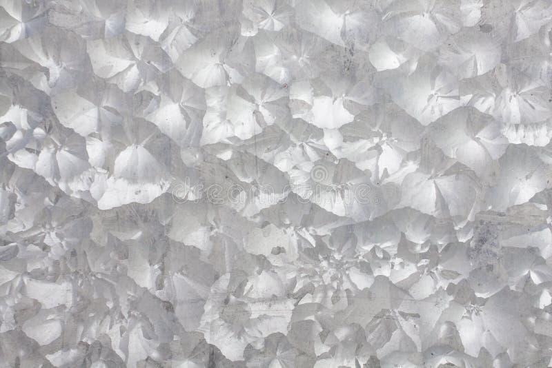 Textura galvanizada zinco do metal do ferro imagens de stock