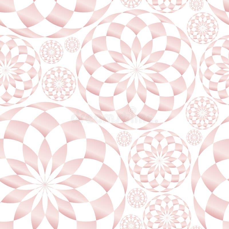 Textura geométrica abstracta del modelo del caleidoscopio libre illustration