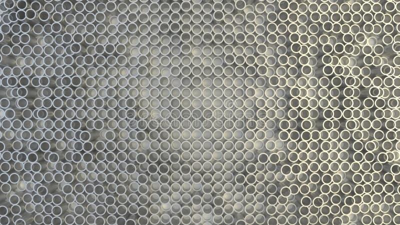Textura geométrica abstrata de círculos aleatoriamente expulsos imagem de stock