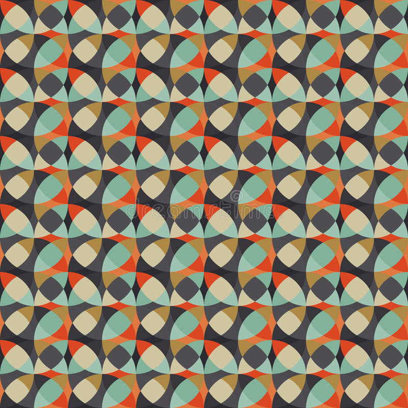 Textura geométrica abstrata sem emenda ilustração royalty free