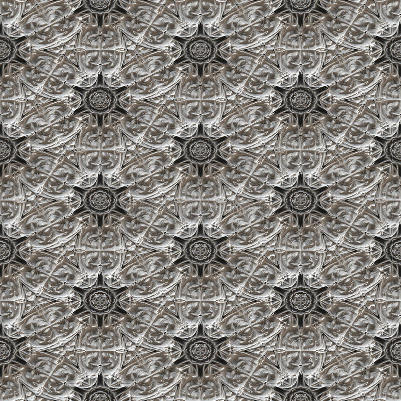 Textura gerada sem emenda calidoscópico do teste padrão de mosaico ilustração royalty free