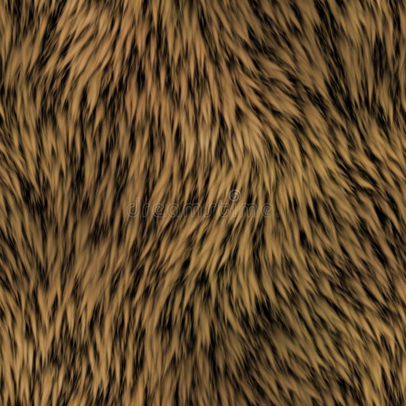 Textura gerada sem emenda da pele ilustração stock