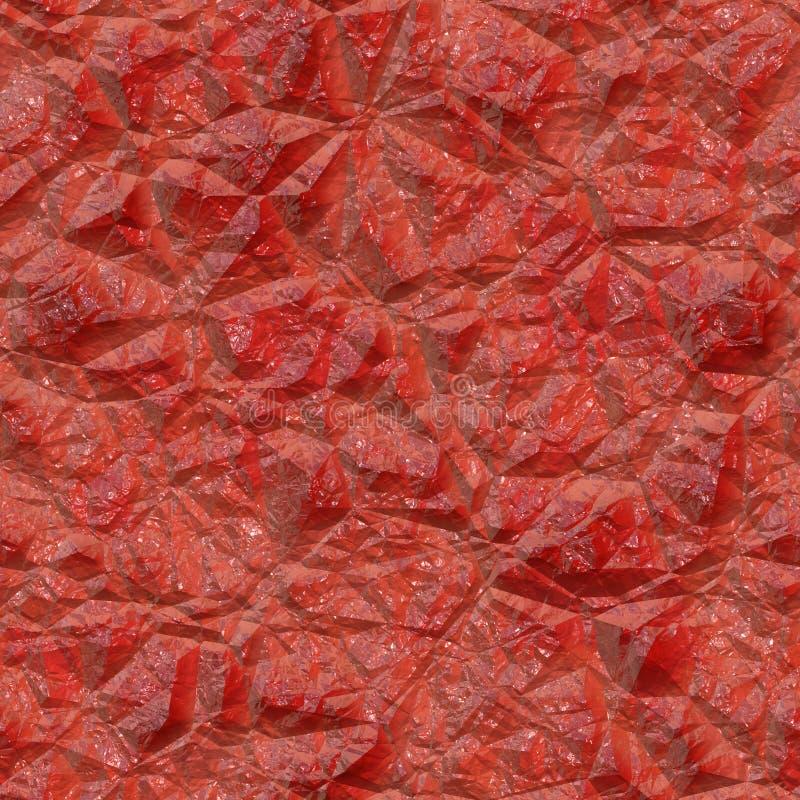 Textura gerada sem emenda de pedra de cristal ilustração stock