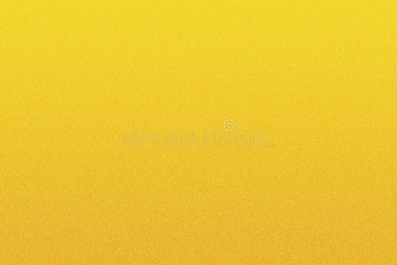 Textura grained amarela do sumário ilustração royalty free