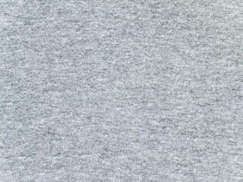 Textura gris de la tela de la camiseta del brezo foto de archivo libre de regalías