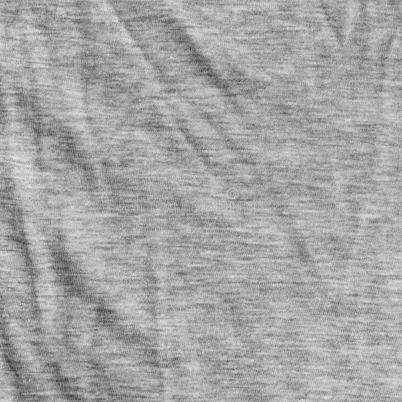 Textura gris de la tela con el modelo rayado delicado. fotografía de archivo