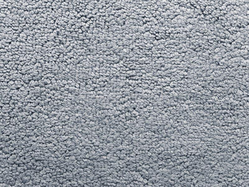 Textura gris de la tela de la manta del baño fotos de archivo