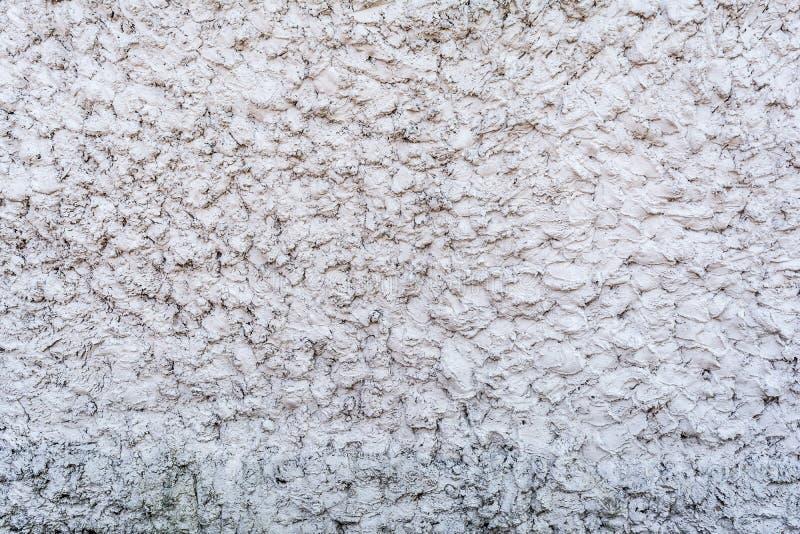 Textura gris de un muro de cemento, capa de yeso decorativo, fondo abstracto fotografía de archivo