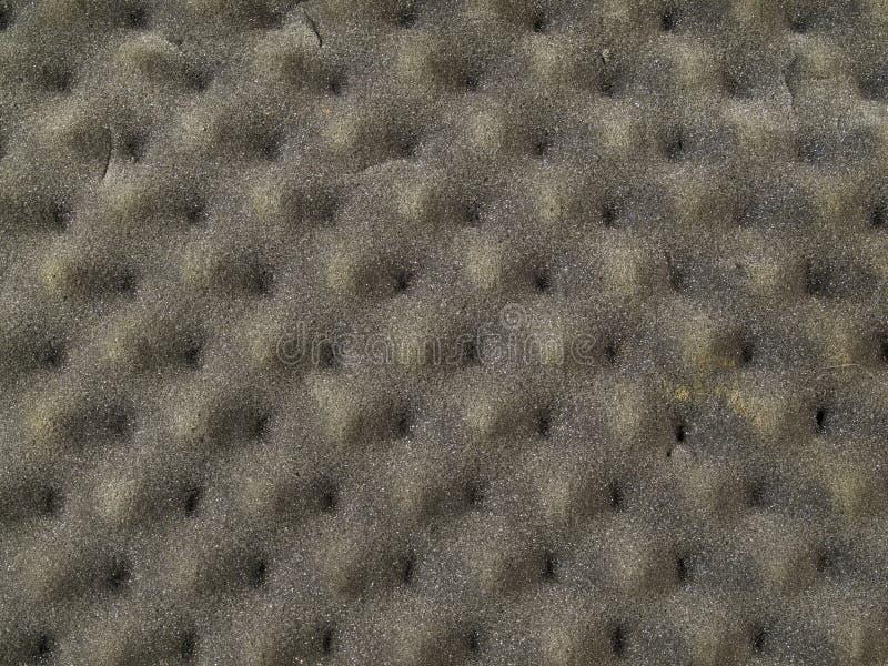 Textura gris del acolchado de la espuma de Brown imagenes de archivo