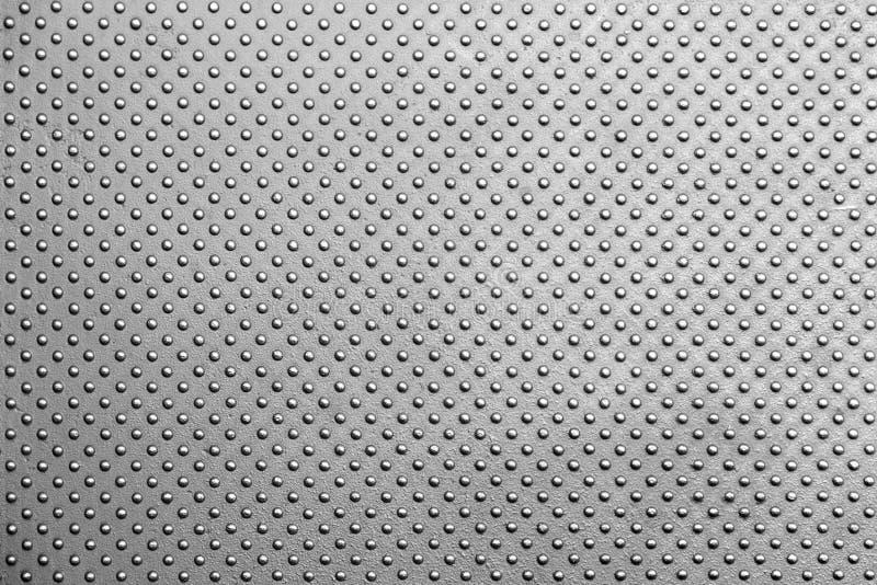 Textura gris del metal imagenes de archivo