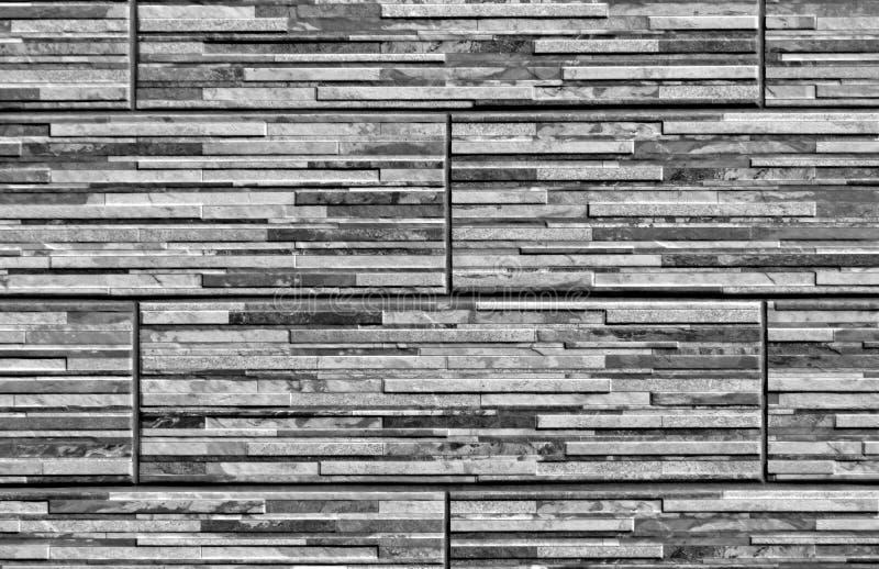 Textura gris estilizada de la pared de ladrillo fotografía de archivo libre de regalías