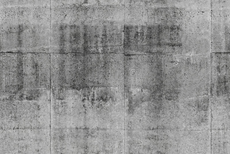 Textura gris inconsútil detallada del muro de cemento fotos de archivo