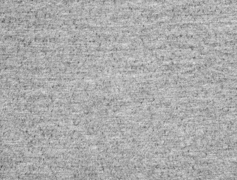 Textura gris oscuro de la tela de la camiseta imagenes de archivo