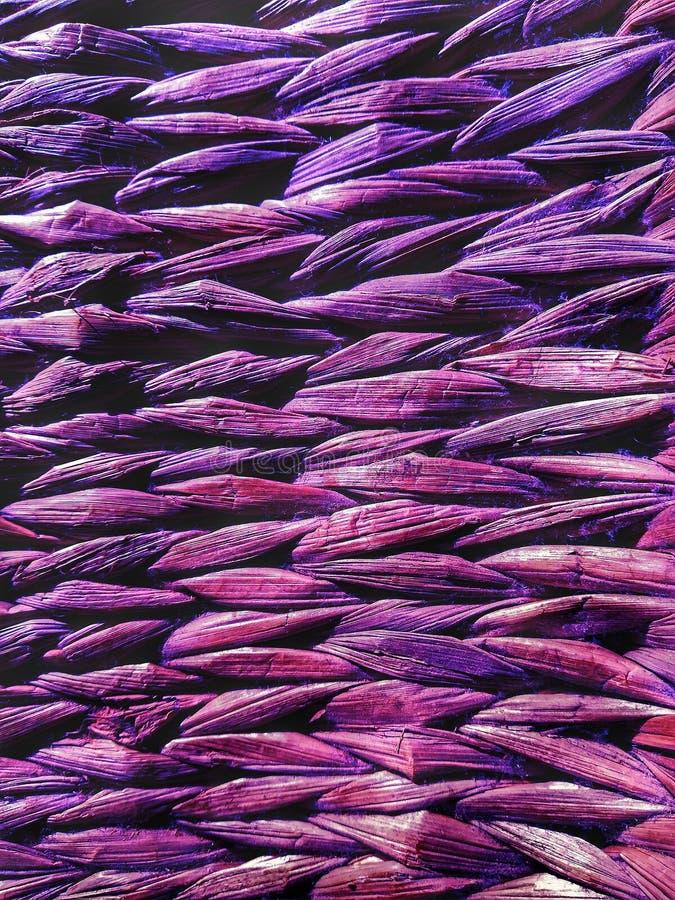 Textura hecha punto bambú de mimbre del fondo imagen de archivo libre de regalías