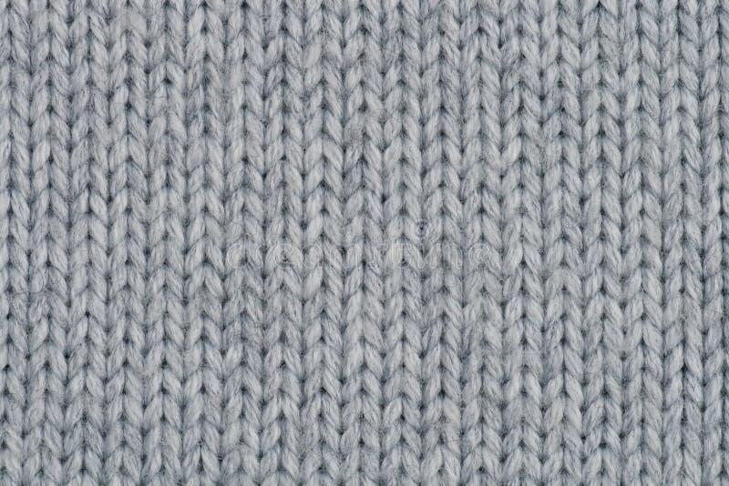 Textura hecha punto de las lanas. fotos de archivo