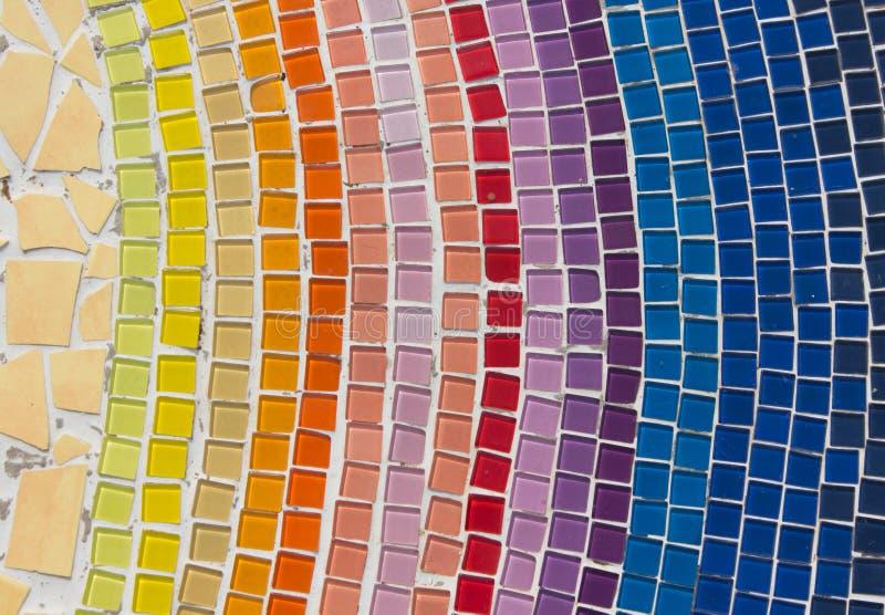 Textura hermosa de las tejas cristalinas imagen de archivo