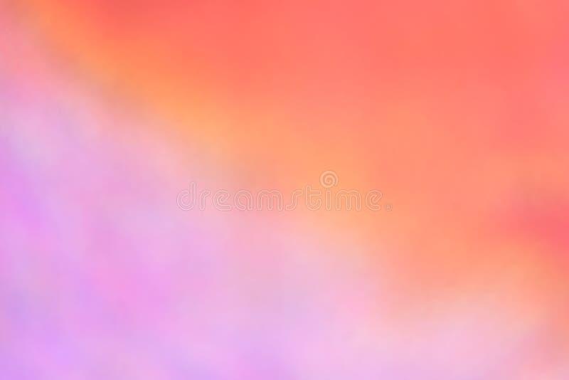 Textura holográfica real brilhante da folha em cores de néon pasteis holo ilustração do vetor