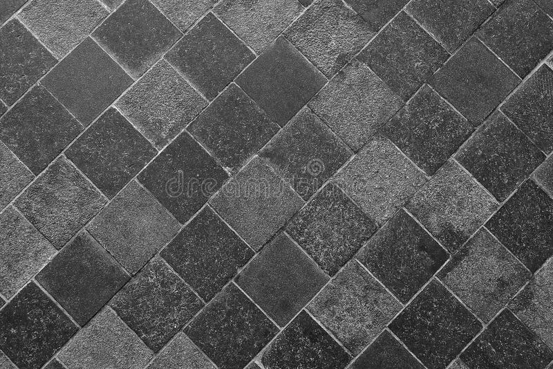 Textura horizontal de Gray Slate Footpath foto de stock royalty free