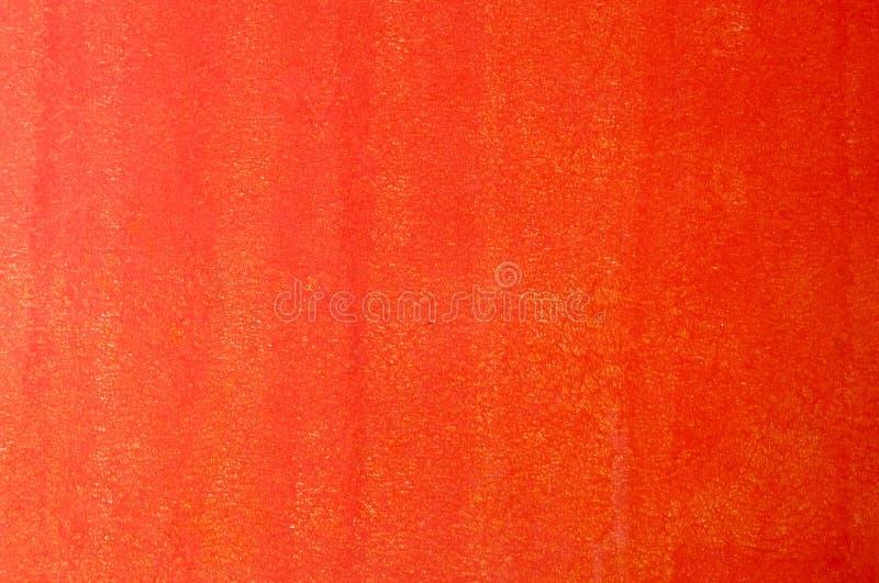 Textura horizontal del fondo rojo de la pared del estuco imagenes de archivo