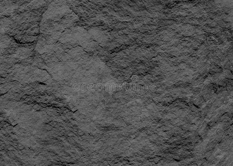 Textura horizontal do fundo preto da ardósia foto de stock royalty free