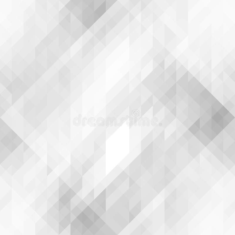 Textura inconsútil abstracta con los triángulos grises stock de ilustración
