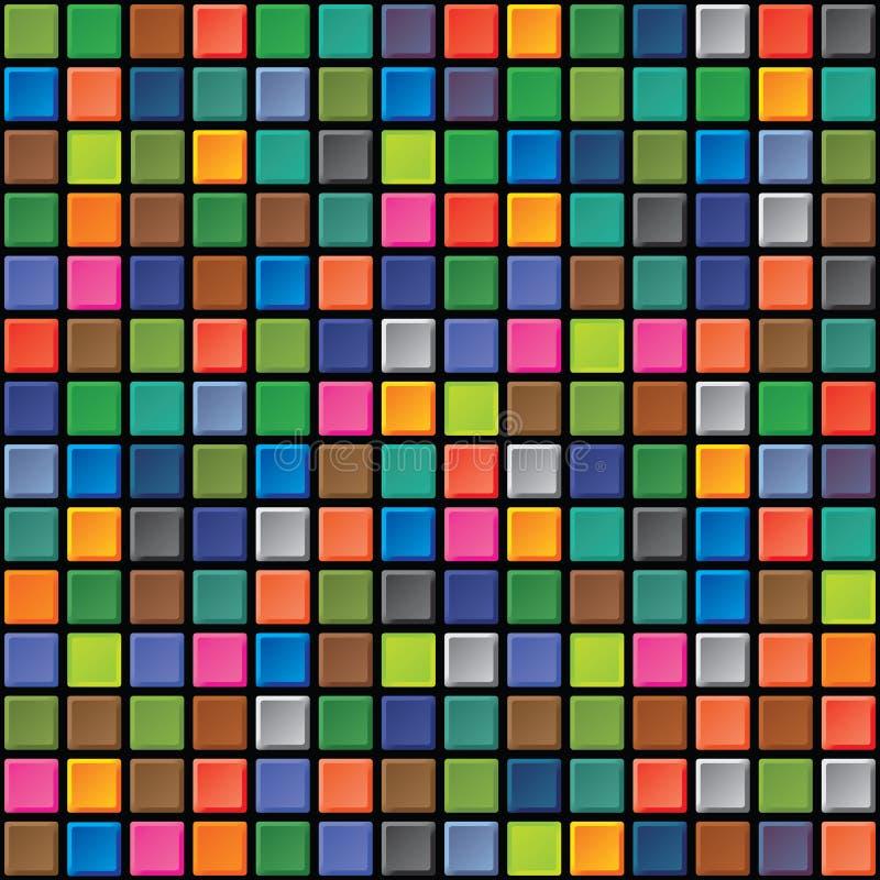 Textura inconsútil - azulejos iridiscentes libre illustration