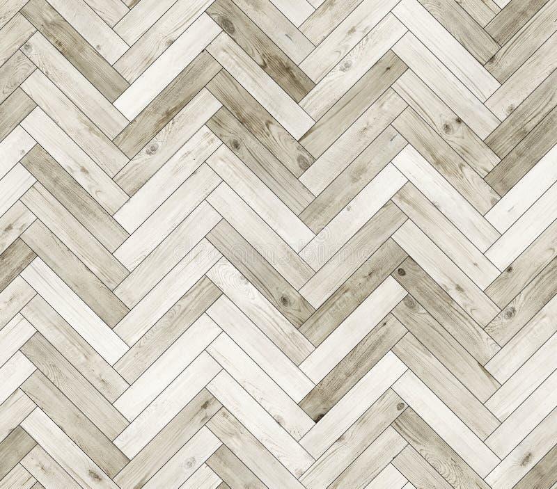 Textura inconsútil blanqueada raspa de arenque del piso del entarimado natural imagen de archivo
