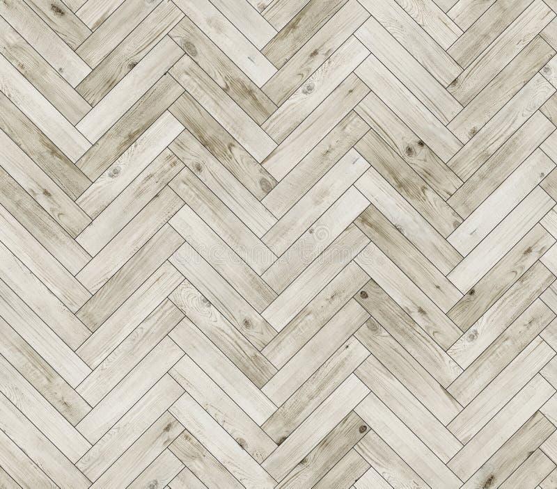 Textura inconsútil blanqueada raspa de arenque del piso del entarimado natural fotos de archivo libres de regalías