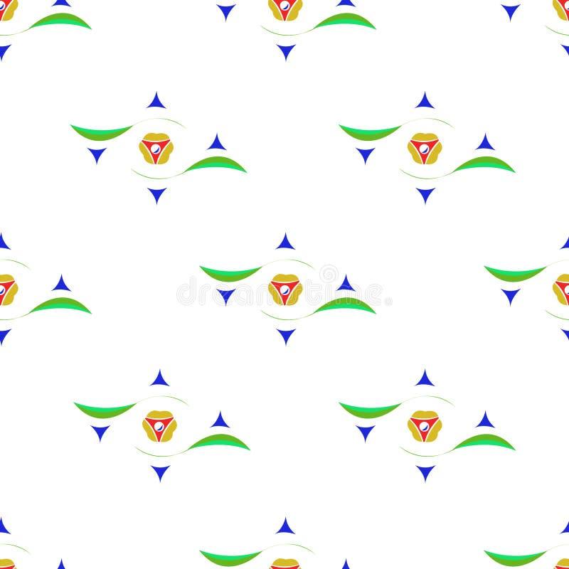 Textura inconsútil coloreada stock de ilustración
