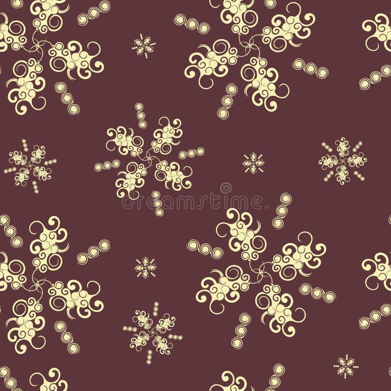 Textura inconsútil con los elementos abstractos 10 ilustración del vector