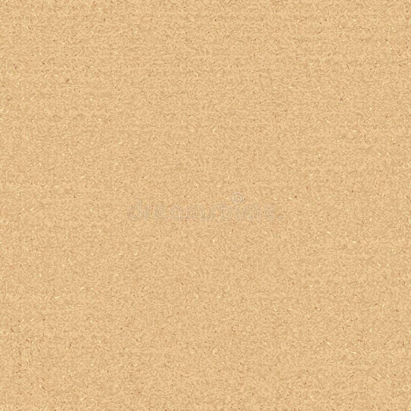 Textura inconsútil de la cartulina ilustración del vector