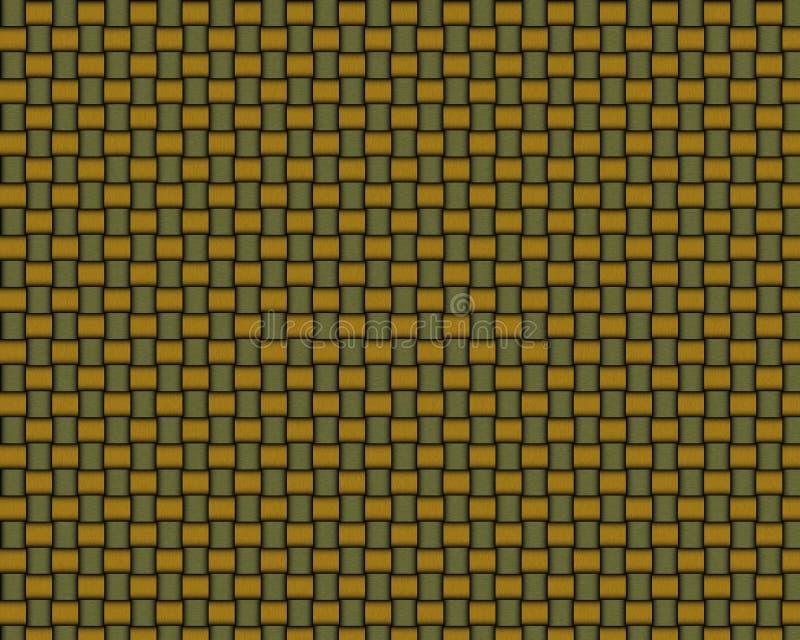 Textura inconsútil de la cesta de mimbre stock de ilustración