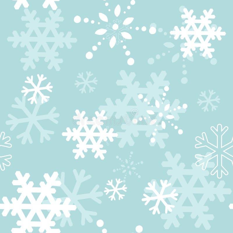 Textura inconsútil de la Navidad decorativa del invierno ilustración del vector