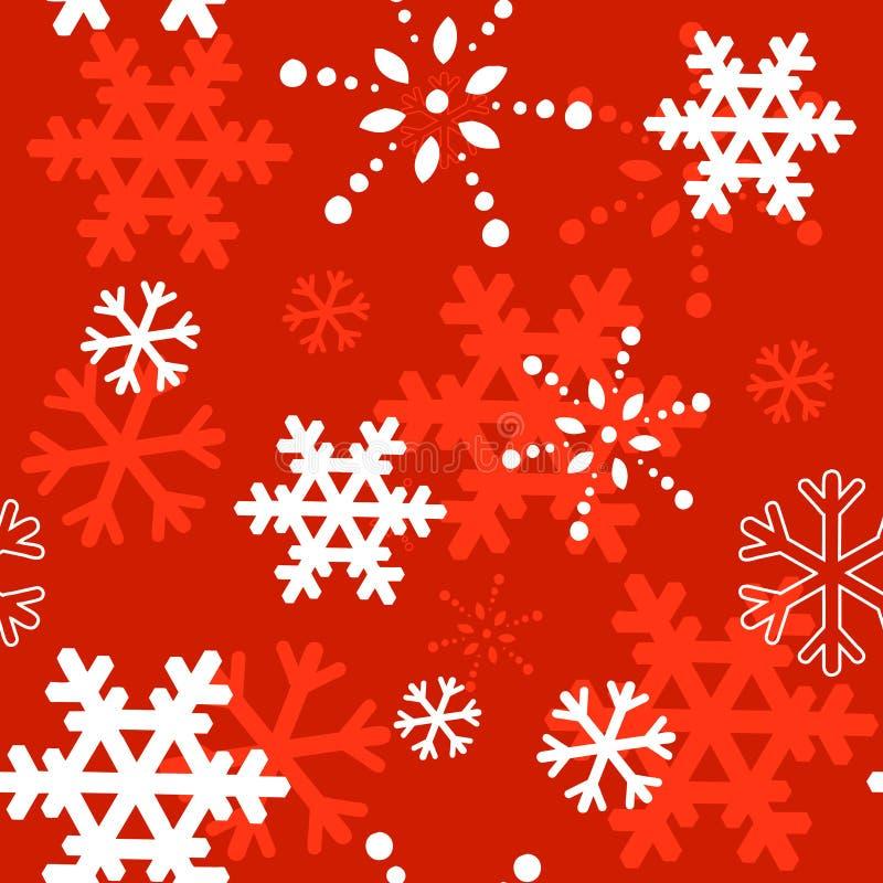 Textura inconsútil de la Navidad decorativa del invierno libre illustration