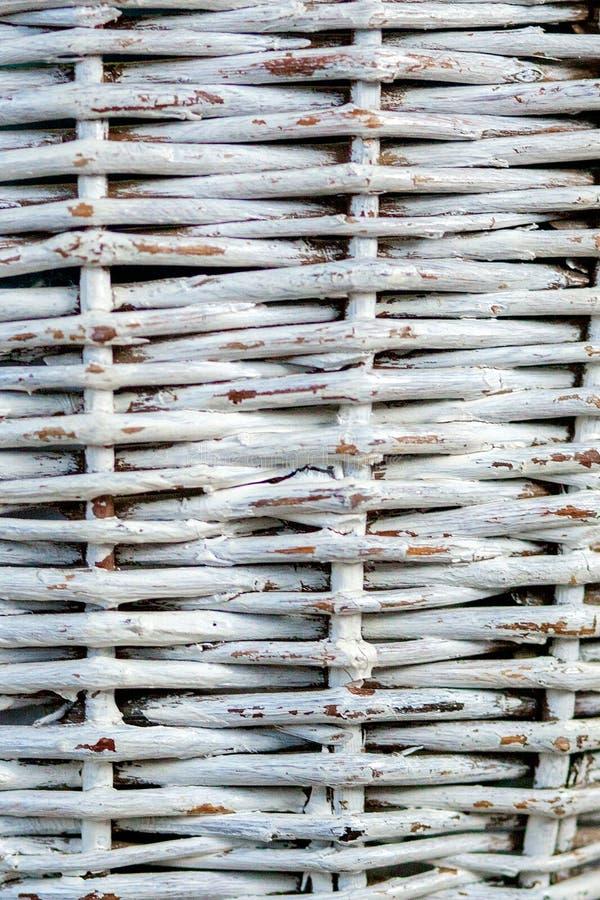 Textura inconsútil de la superficie de la cesta Fondo del modelo Cesta de mimbre de la paja de la vid de madera mimbre natural de fotos de archivo libres de regalías