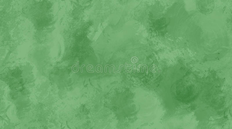 Textura inconsútil de la teja del fondo verde de la acuarela ilustración del vector