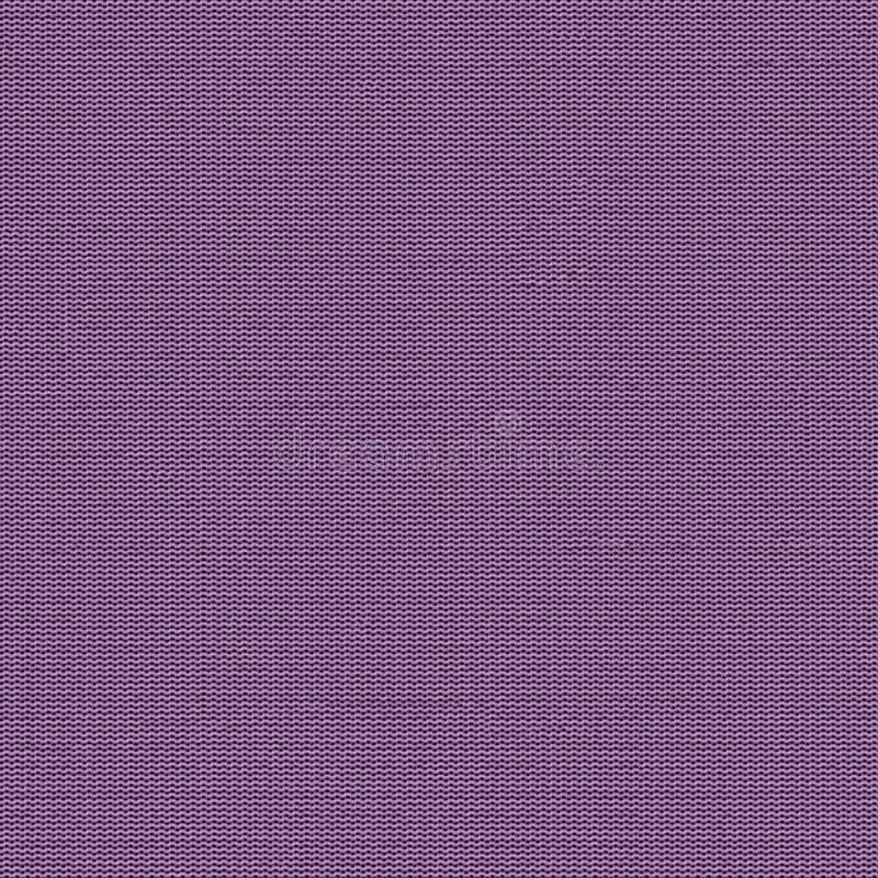 Textura inconsútil de la tela violeta Mapa de la textura para 3d y el 2.o stock de ilustración