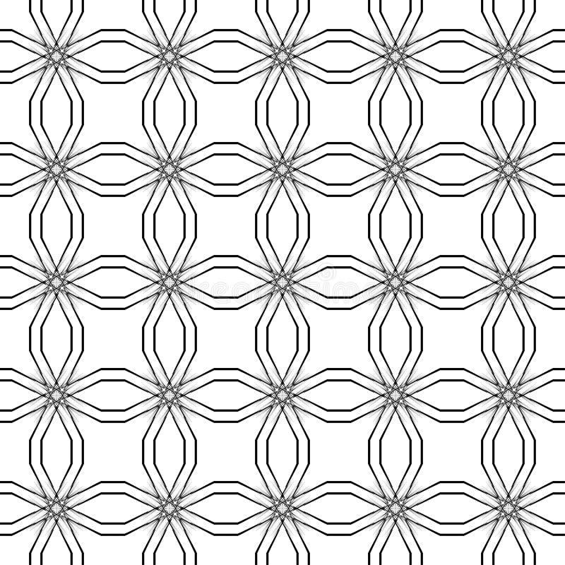 Textura inconsútil de la vendimia Elemento para el diseño Fondo tradicional de la decoración imagen de archivo