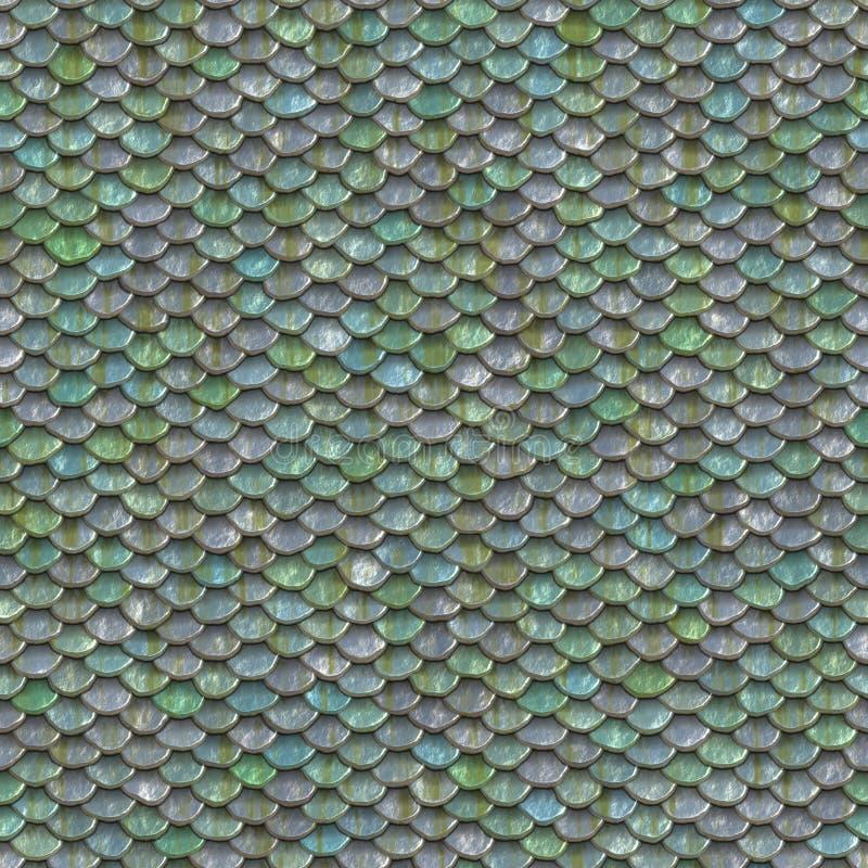 Textura inconsútil de las escalas foto de archivo libre de regalías