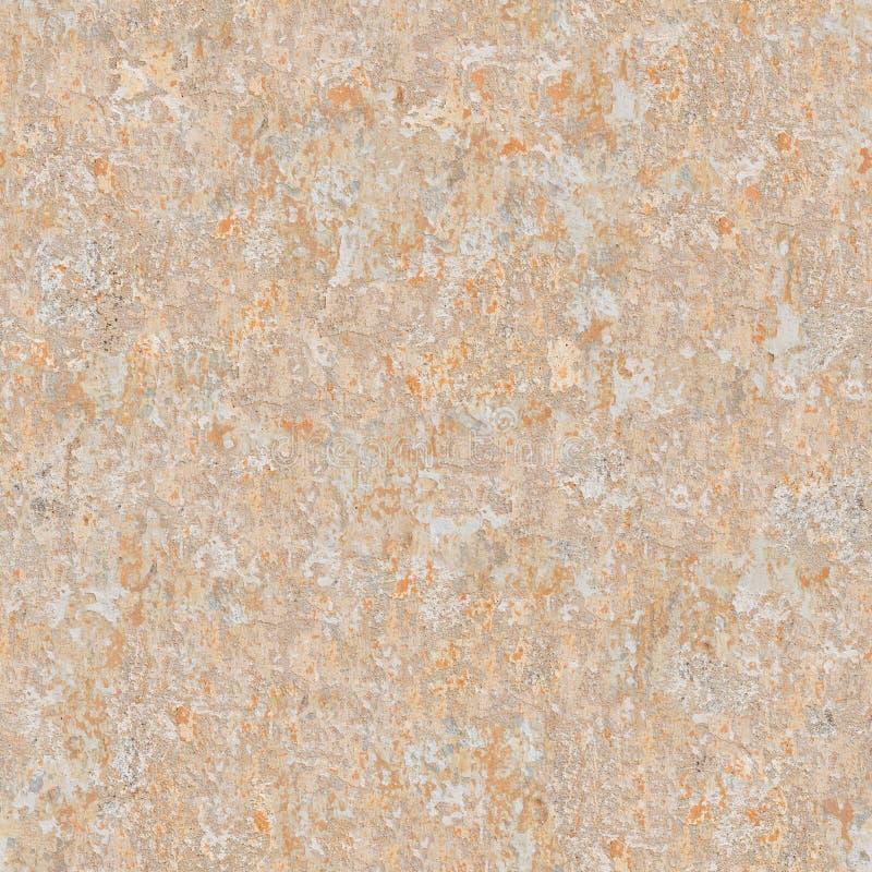 Textura inconsútil de la vieja superficie enyesada. stock de ilustración