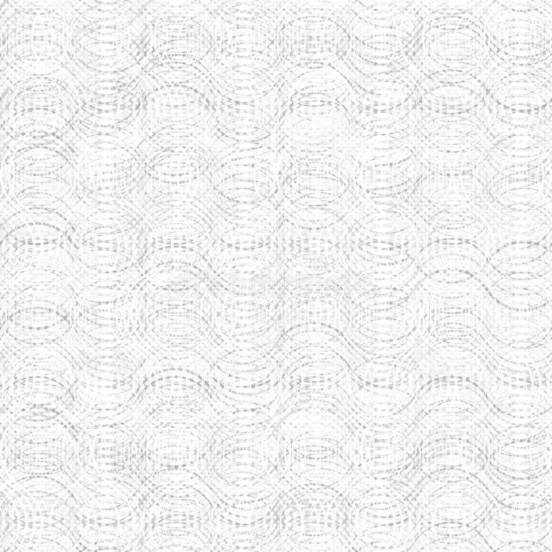 Textura inconsútil de una superficie gris sombreada Modelo abstracto con las ondas libre illustration