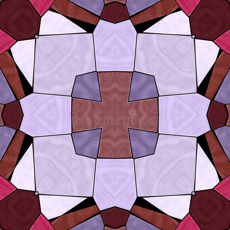 Textura inconsútil del caleidoscopio multicolor libre illustration