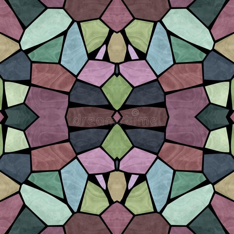 Textura inconsútil del caleidoscopio multicolor imagenes de archivo