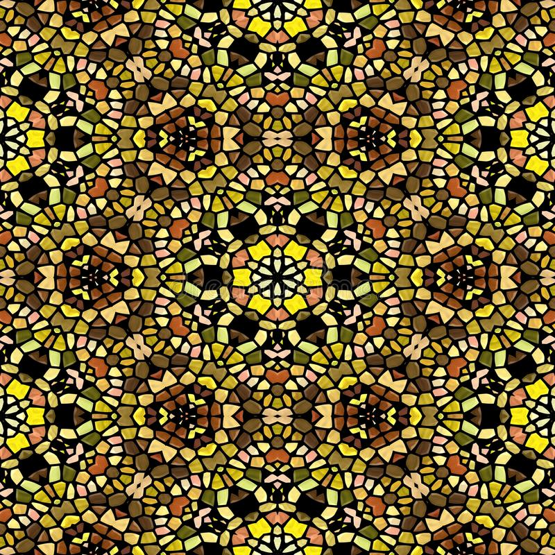 Textura inconsútil del caleidoscopio multicolor fotografía de archivo libre de regalías