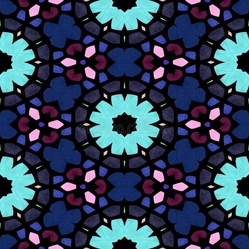 Textura inconsútil del caleidoscopio multicolor fotos de archivo