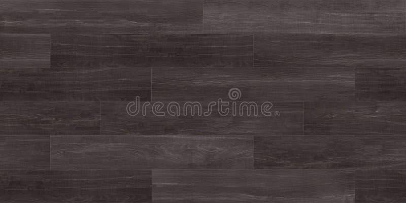 Textura inconsútil del decking de la madera dura, difusa fotografía de archivo