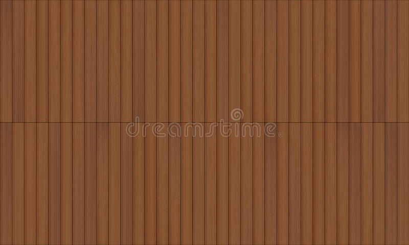 Textura inconsútil del decking de madera ilustración del vector