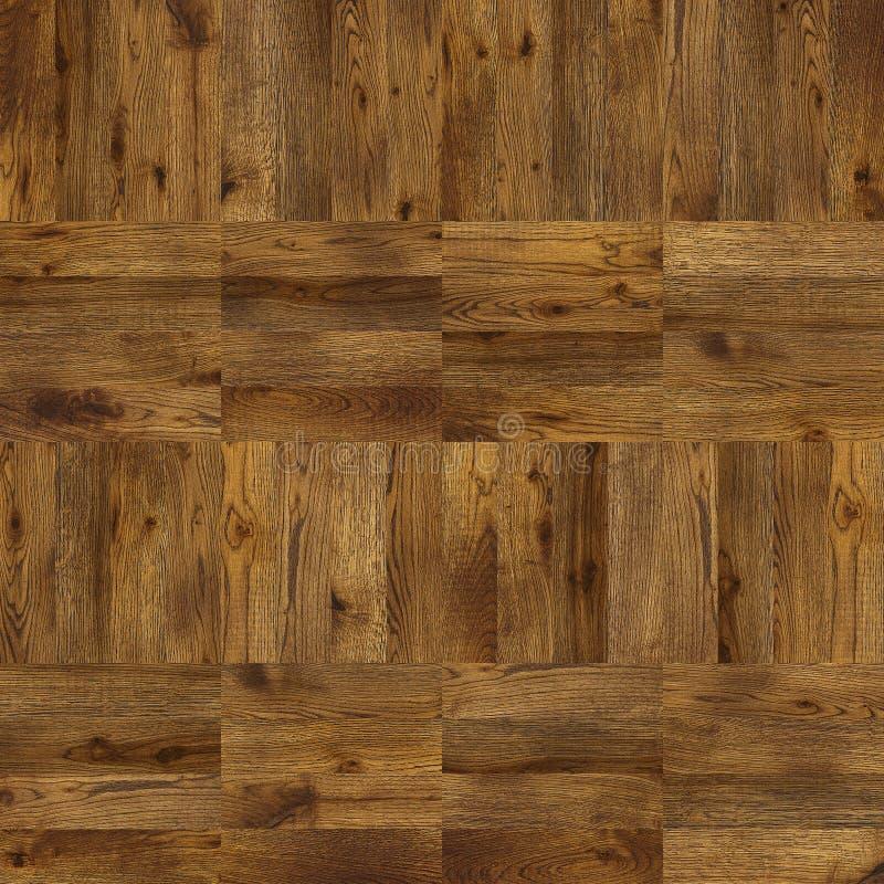 Textura inconsútil del diseño del suelo del entarimado del Grunge para el interior 3d foto de archivo libre de regalías