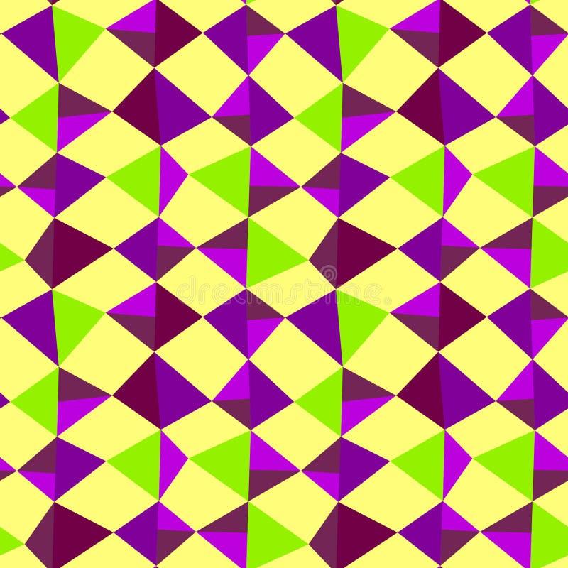 Textura inconsútil del extracto geométrico de las piedras libre illustration
